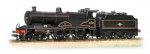 31-933A Bachmann Branchline Midland 4-4-0 Compound 41157 BR Lined Black Late Crest